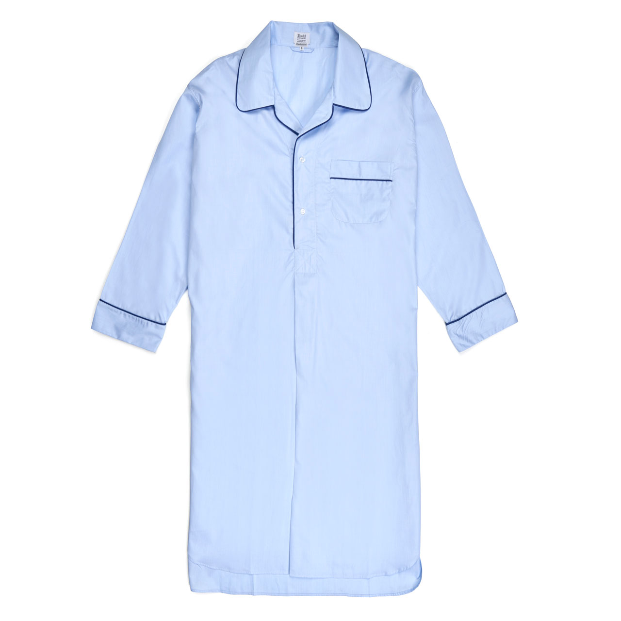 Exclusive End On End Sea Island Cotton Nightshirt In Sky