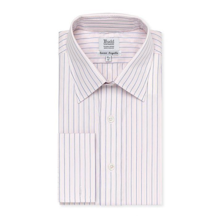 24c1ff62492 Soyella Trio Stripe Shirt in Pink