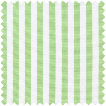 Supraluxe in Apple Green and White Stripe