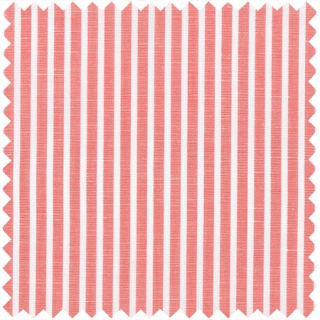 Zephirlino in Coral and White Stripe
