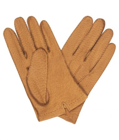 Tan Hogskin Unlined Gloves
