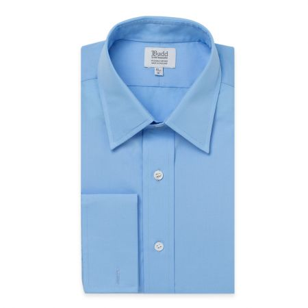 Poplin Shirt in Cornflower
