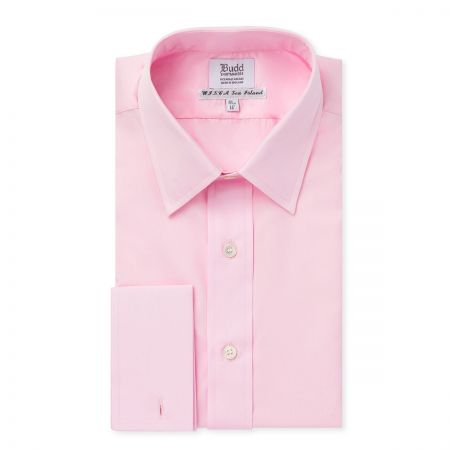 Sea Island Cotton Shirt in Pink