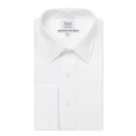 Wisica Sea Island Cotton Shirt in White