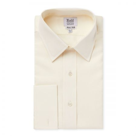 Plain Silk Dress Shirt