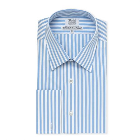 Medium Bengal Stripe Wisica Shirt in Blue