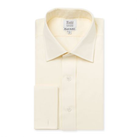 Bank Poplin Shirt in Cream