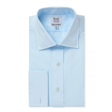 Bank Poplin Shirt in Sky