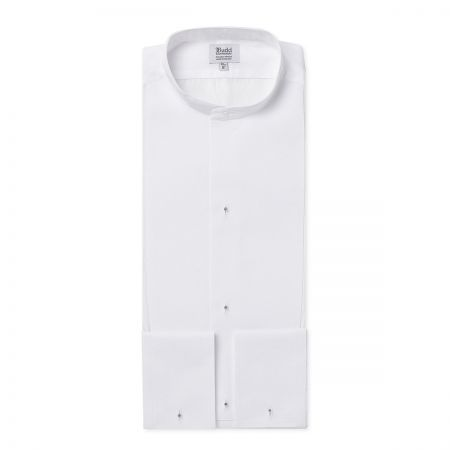 Semi-Stiff Neckband Marcella Dress Shirt