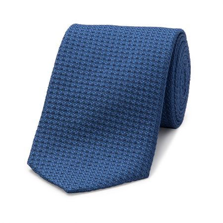 Grenadine Tie in Bright Blue