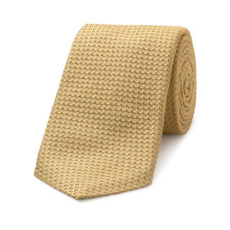 Grenadine Tie in Gold