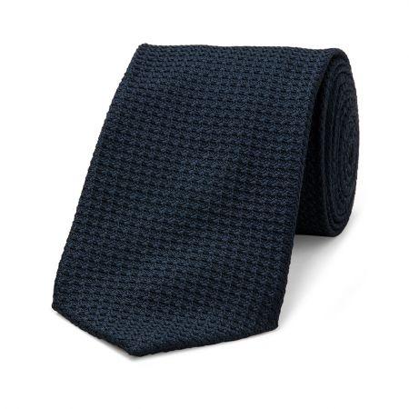 Grenadine Tie in Navy