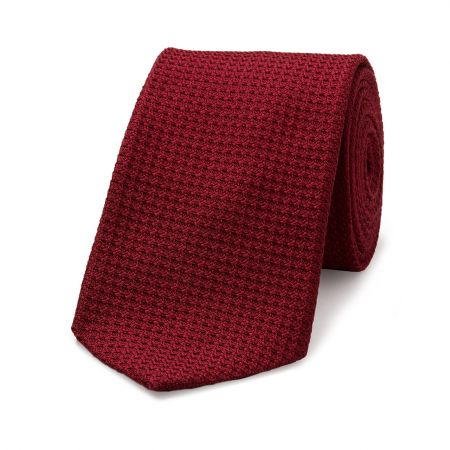 Grenadine Tie in Red