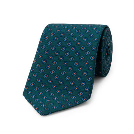 Daisy Madder Tie in Green