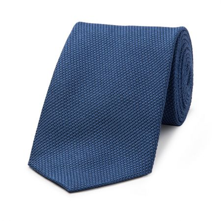 Piccola Grenadine Tie in Bright Blue