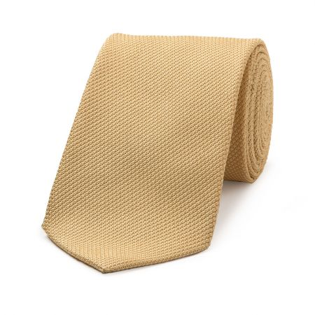 Piccola Grenadine Tie in Gold