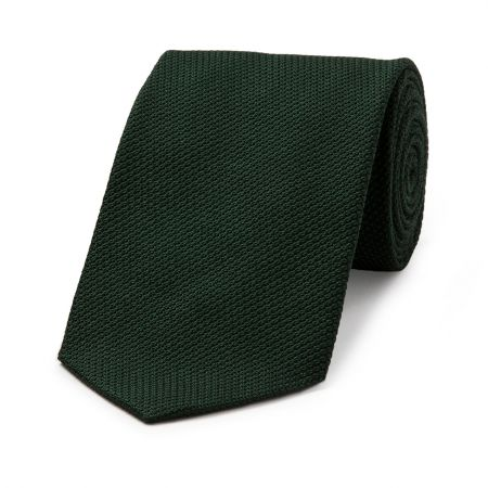 Piccola Grenadine Tie in Green