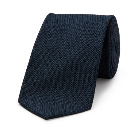 Piccola Grenadine Tie in Navy