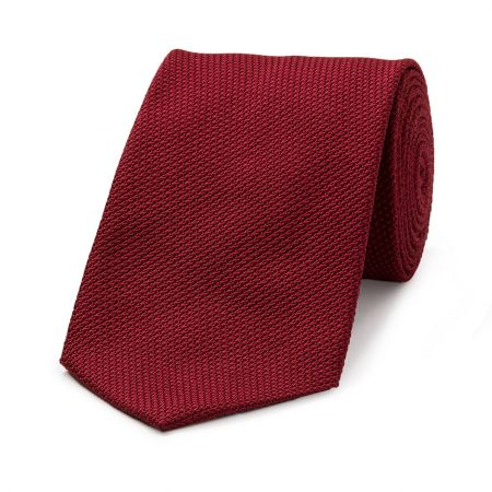 Piccola Grenadine Tie in Red