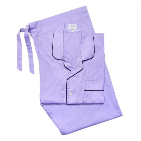 Plain Batiste Pyjamas in Lilac