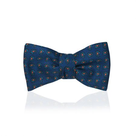 Pine Madder Thistle Bow Tie