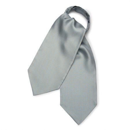 Horse Bit Foulard Silk Cravat in Sky Blue