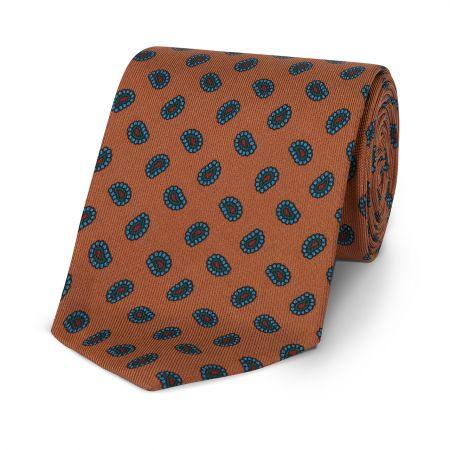 Pine Madder Tie in Copper