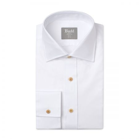 Slim Fit Oxford Shirt in White