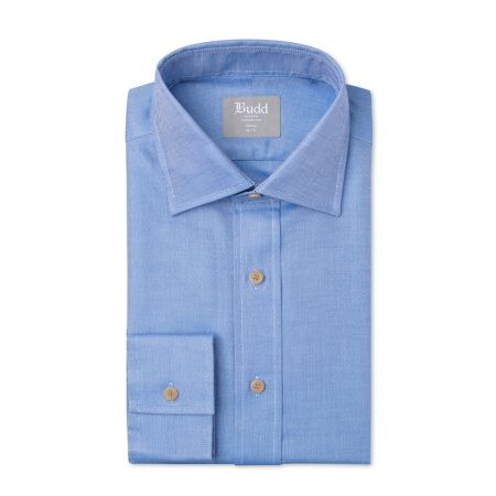 Tailored Fit Oxford Shirt in Blue