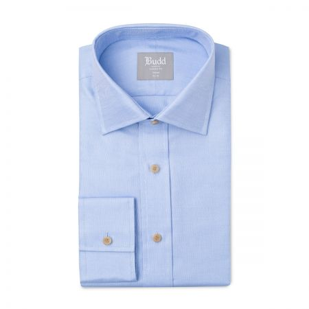 Tailored Fit Oxford Shirt in Sky