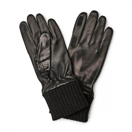 Shooting Nappa Gloves in Black