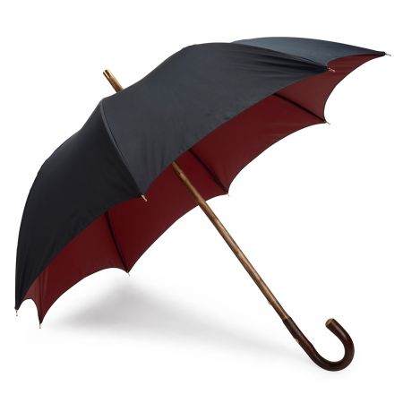 Double Face Umbrella in Navy and Red