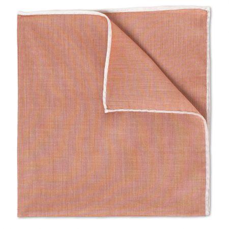 Copper Batiste Cotton Handkerchief