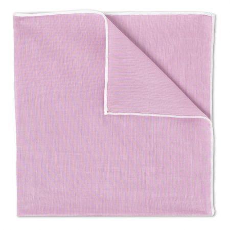 Lilac Batiste Cotton Handkerchief