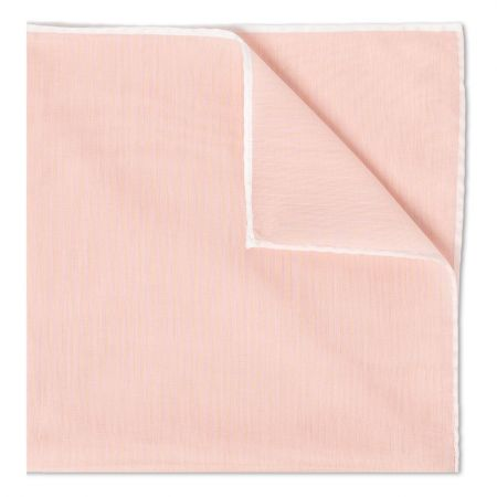 Pink Batiste Cotton Handkerchief