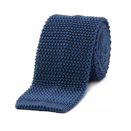 Lazulite Knitted Silk Tie