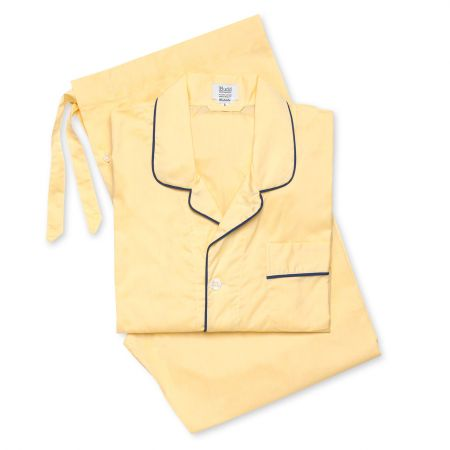 Plain Batiste Pyjamas in Lemon