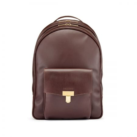 Tusting Seaton Backpack in Chocolate