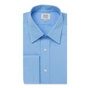 Poplin Shirt in Cornflower