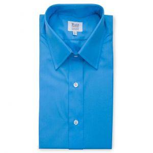 Poplin Shirt in Saxe Blue