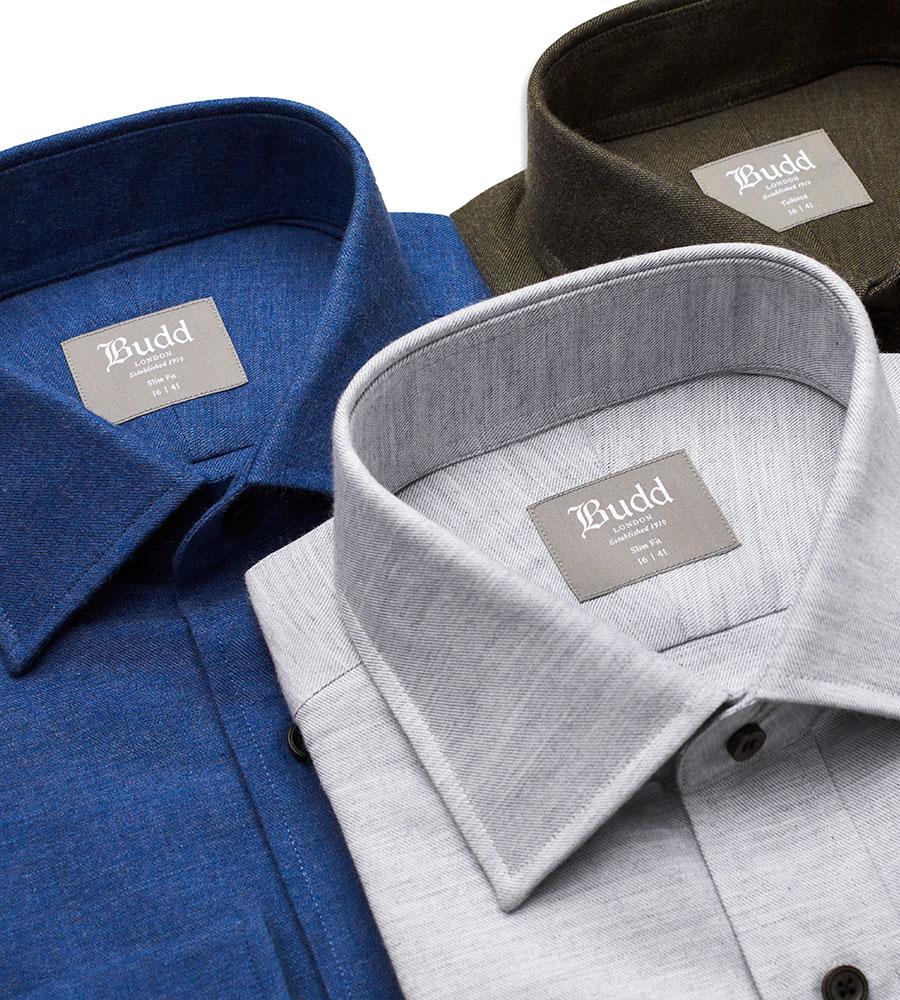 Brushed Cotton Shirts