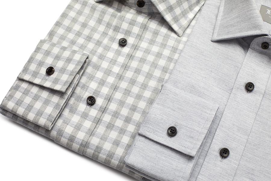 Detail Of Brushed Cotton Shirts