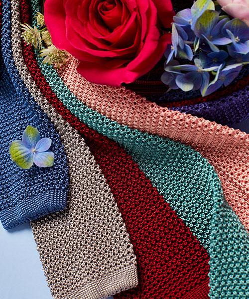 Budd Knitted Silk Ties