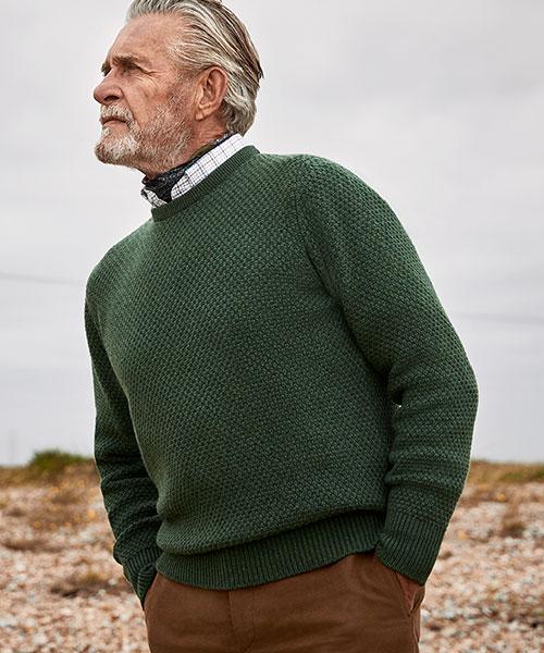 Budd Cashmere and Wool Knitwear