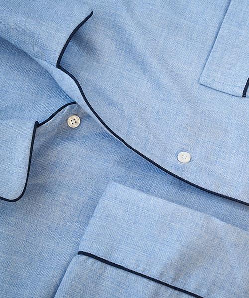 Budd cotton and cashmere nightshirt