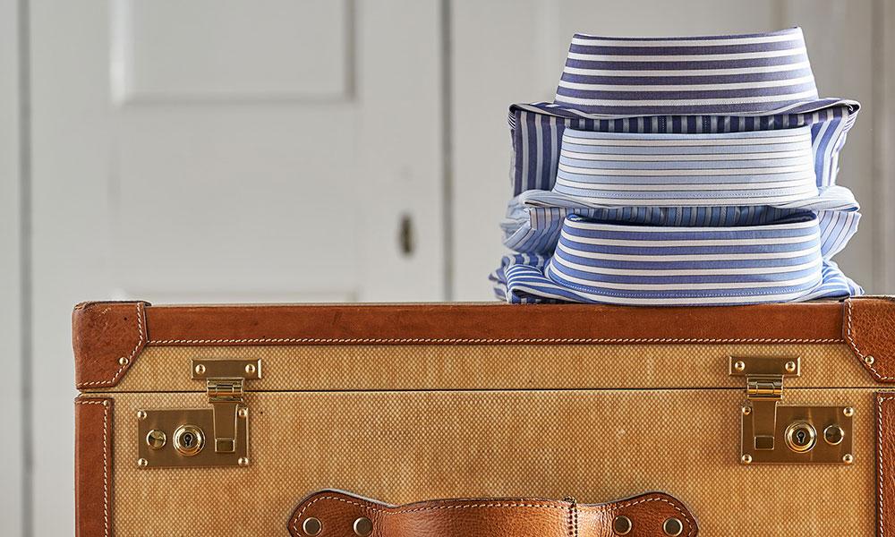 Budd Stripe Cotton Shirts on Trunk