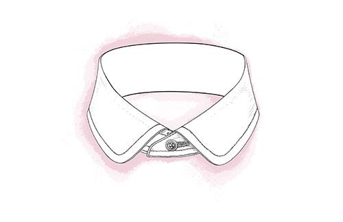 Penny Round Collar