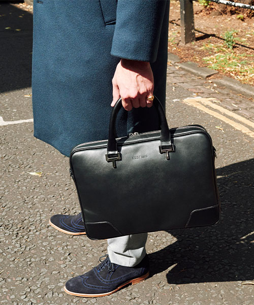 Tusting Leather Mortimer Briefcase