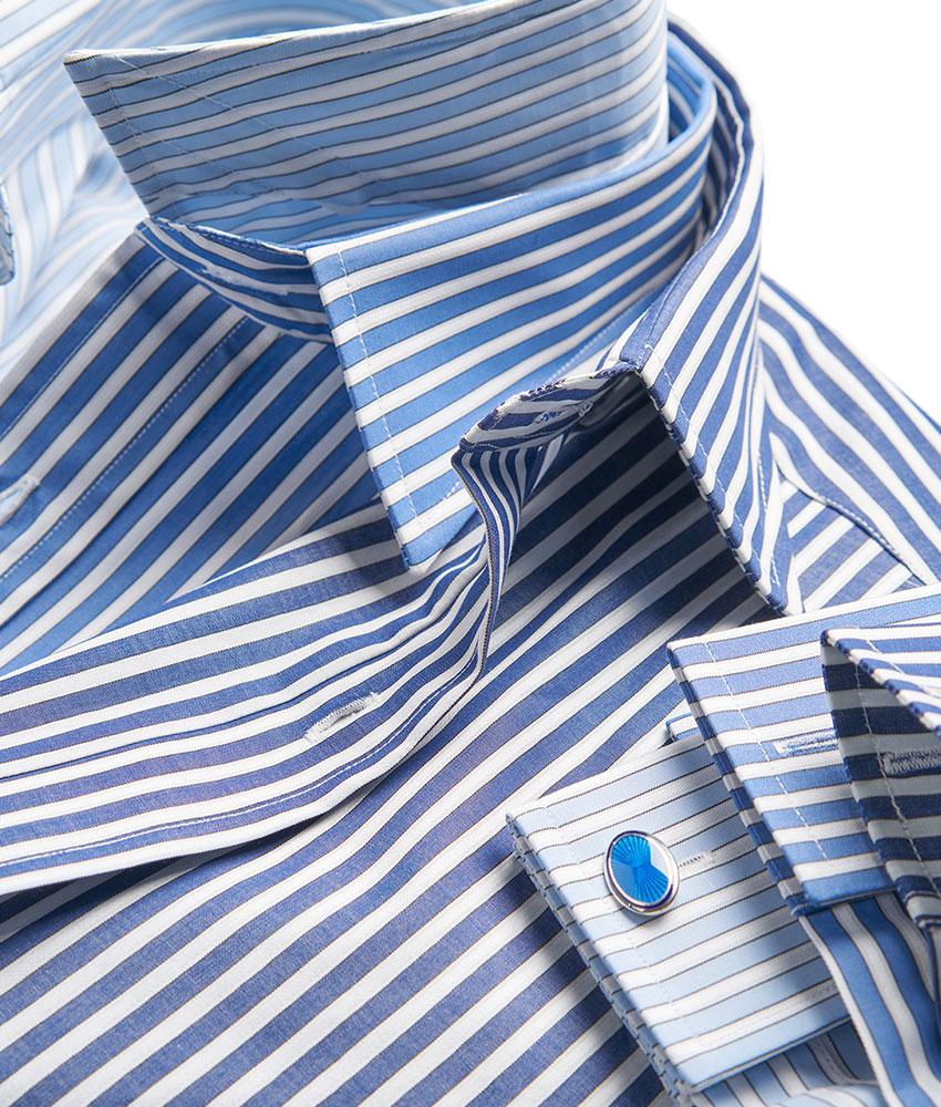 budd stripe shirt detail