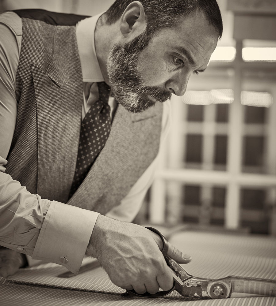 Darren Tiernan, Senior Shirt Cutter